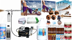 PURE BUNDLE Iwata Airbrush Tanning Package - Our S