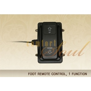 Foot Remote Control 1 Function by ComfortSoul (FR100B)