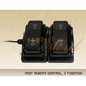 Foot Remote Control 2 Function by ComfortSoul (FR200B)
