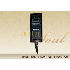 Hand Remote Control 3 Function by ComfortSoul (HR300B)
