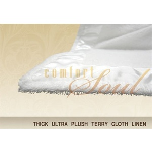 Thick Ultra Plush Terry Cloth Linen by ComfortSoul (LIN200)