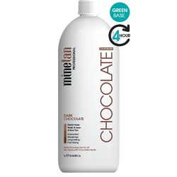 MineTan Dark Chocolate - 4 Hour Tan Professional Spray Tan Solution 33.8 oz. - 1 Liter (MIS200808)