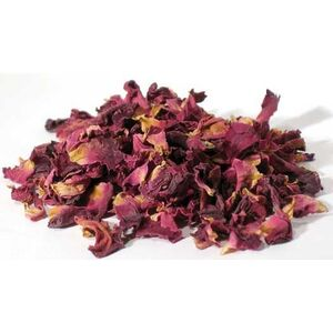 Red Rose Buds & Petals 1 Lb. (HROSRWB)