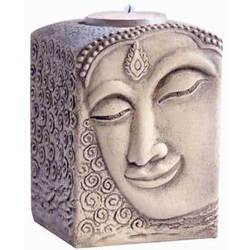 "Buddha Tealite Candle Holder 3"" x 3"" x 4"" (CHT961)"