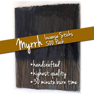 Myrrh Incense Sticks 500 Pack (ISMYRRX)