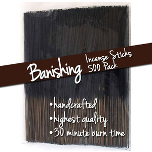 Banishing Incense Sticks 500 Pack (ISBANX)