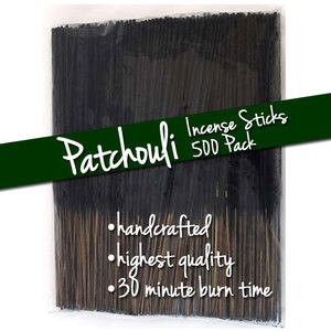 Patchouli Incense Sticks 500 Pack (ISPATX)