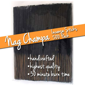 Nag Champa Incense Sticks 500 Pack (ISNAGX)