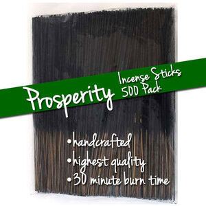 Prosperity Incense Sticks 500 Pack (ISPROSX)