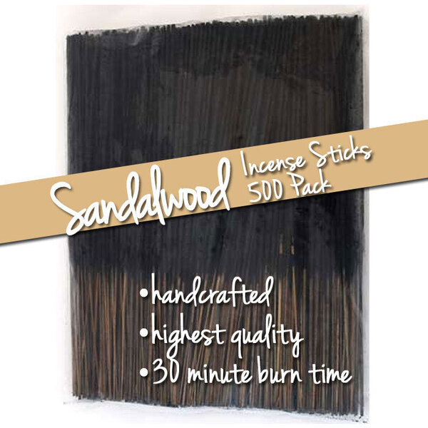 Sandalwood Incense Sticks 500 Pack (ISSANX)