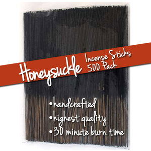Honeysuckle Incense Sticks 500 Pack (ISHONX)