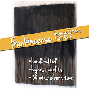 Frankincense Incense Sticks 500 Pack (ISFRAX)