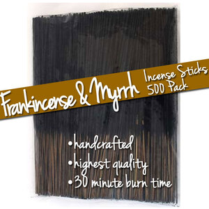 Frankincense & Myrrh Incense Sticks 500 Pack (ISFRAMX)