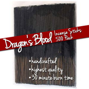 Dragon's Blood Incense Sticks 500 Pack (ISDRAX)