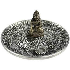 "Buddha Incense Ash Catcher 4"" Diameter (IBIB10)"