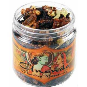 Resin Incense: Ananda - Clearing Negativity 2.4 oz. Jar (IRJANA)