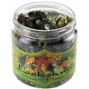 Resin Incense: Lakshmi - Money and Prosperity 2.4 oz. Jar (IRJLAK)