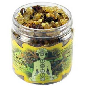 Resin Incense: Muladhara Chakra - Grounding and Inner Peace 2.4 oz. Jar (IRJMUL)