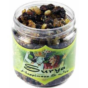 Resin Incense: Surya - Happiness and Joy 2.4 oz. Jar (IRJSUR)