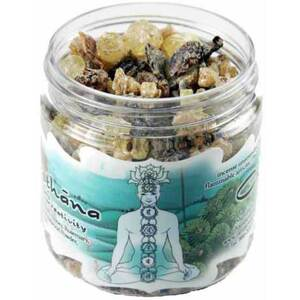 Resin Incense: Svadhisthana Chakra - Sensuality and Creativity 2.4 oz. Jar (IRJSVA)