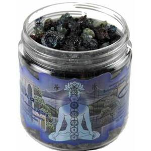 Resin Incense: Visuddha Chakra - Communication and Responsibility 2.4 oz. Jar (IRJVIS)