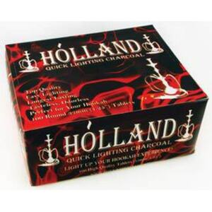 Holland 33mm Charcoal 100 Tablets (IC33B)