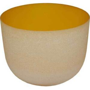 "8"" Crystal Singing Bowl - Yellow (FSB004)"