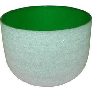 "8"" Crystal Singing Bowl - Green (FSB005)"