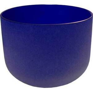"8"" Crystal Singing Bowl - Dark Blue (FSB007)"