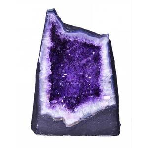 "Gigantic Amethyst Cathedral Geode - 117.8 Lbs. - Grade 10 Base Girth - 3' 10 Depth Mid-Section - 14 Height - 1' 6.5"" (GAMEC5)"