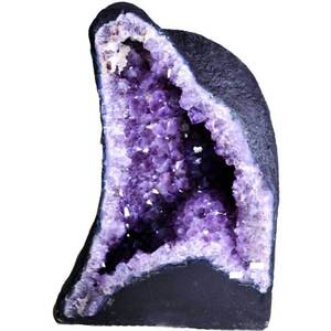 "Gigantic Amethyst Cathedral Geode - 102.5 Lbs. - Grade 4 Base Girth - 2"" 7.5 Depth Mid-Section - 11.5 Height - 1' 10"" (GAMEC6)"