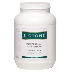 Herbal Select Creme 1 Gallon by Biotone (BIHSCG)