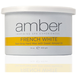 French White Wax Can 14 oz. by Amber Products (AMB139)