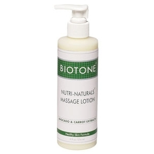 Nutri-Natural 8 oz. Lotion with Pump by Biotone (BINNL8)