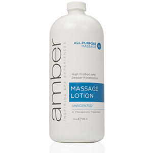 Massage Lotion - Unscented 32 oz. (529-U)