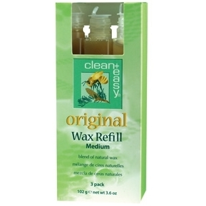 Original Wax Refill Medium 3 Pack by Clean & Easy (CE-41632)