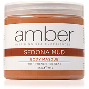 Sedona and French Red Clay Mud Masque 16 oz. by Amber Products (AMB636-S)