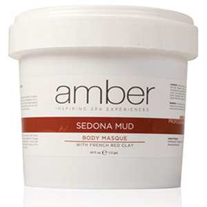 Sedona and French Red Clay Mud Masque 64 oz. by Amber Products (AMB637-S)