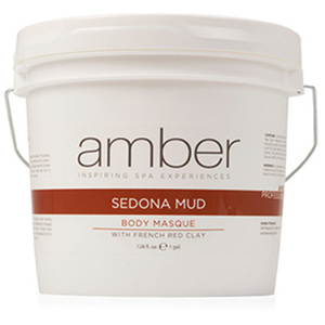 Sedona and French Red Clay Mud Masque 1 Gallon by Amber Products (AMB638-S)