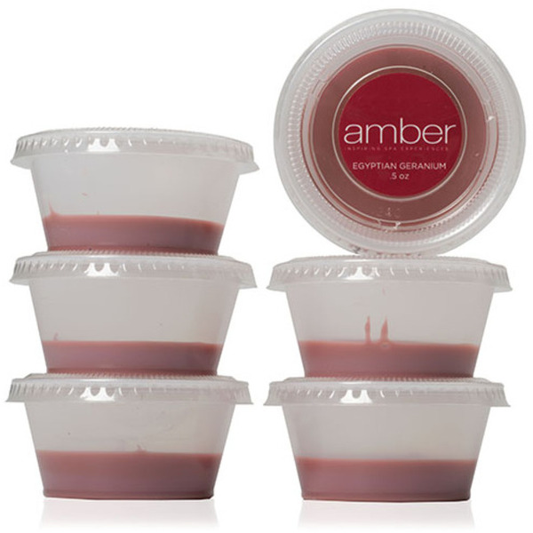 Egyptian Geranium Wax 12 oz. Six Pack by Amber Products (AMB95)