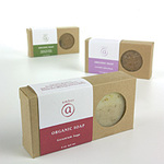 Geranium Sage Organic Soap 5 oz. by Amber Products (AMBR650-GS)