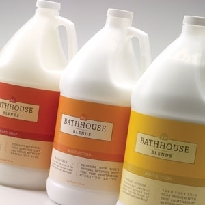 Mandarin Body Lotion 1 Gallon by Bathhouse Blends (P612M)