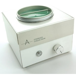 Stainless Depilatory Heater by Amber Products (AMBSS907)