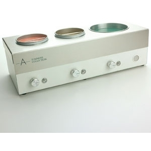 Stainless Triple Depilatory Heater by Amber Products (AMBSS909)