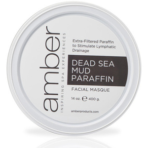 Dead Sea Facial Mud-Paraffin 14 oz. by Amber Products (AMB192-DSS)