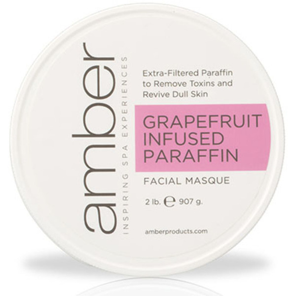 Grapefruit Infused Facial Paraffin 2 Lb. by Amber Products (AMB192-G)