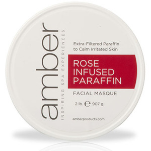 Rose Infused Facial Paraffin 2 Lb. by Amber Products (AMB192-R)