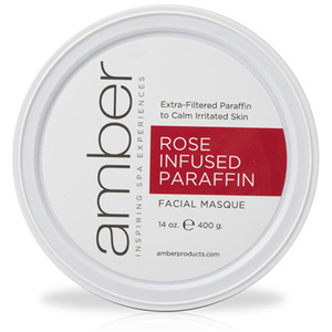 Rose Infused Facial Paraffin 14 oz. by Amber Products (AMB192-RS)