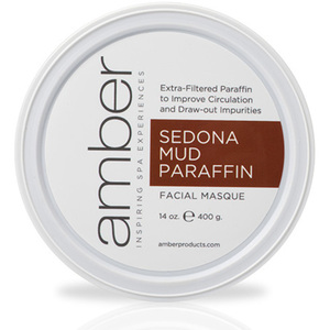 Sedona Facial Mud-Paraffin 14 oz. by Amber Products (AMB192-SES)