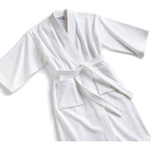 Terry Kimono Robe White by Boca Terry (SSSW067)